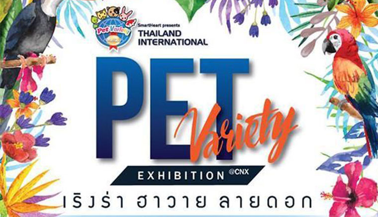 Thailand International Pet Variety Exhibition Chiangmai The 8th episode of the Hawaiian flower pattern