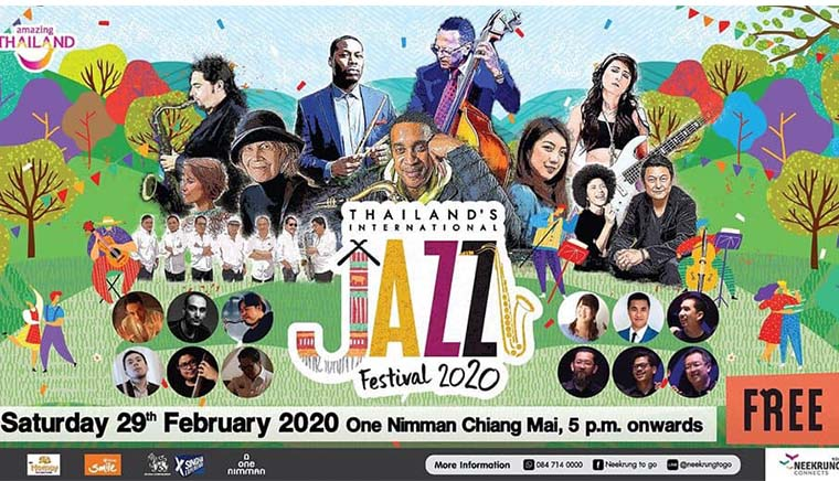 Thailand's International Jazz Festival 2020