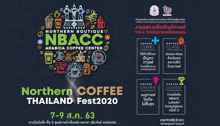 Northern Thailand Coffee Fest. 2020