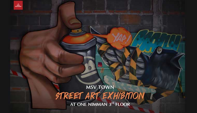 Street Art Exhibition by MSV