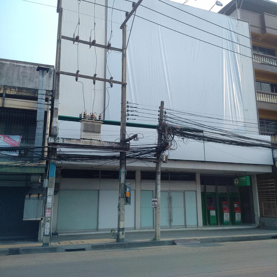 ธนาคาร กสิกรไทย (ถนนศรีดอนไชย) ปิดให้บริการ