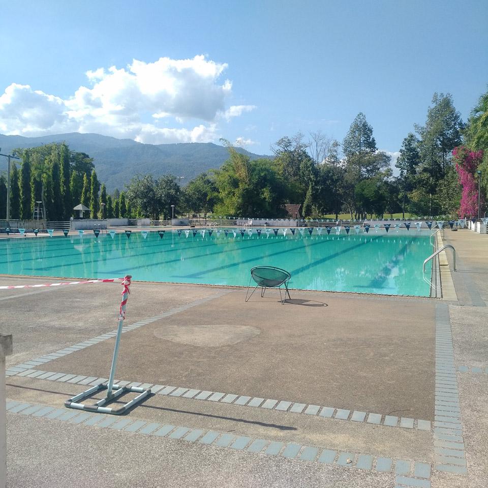 สระว่ายน้ำ ศูนย์กีฬา ลานนา มทบ.33